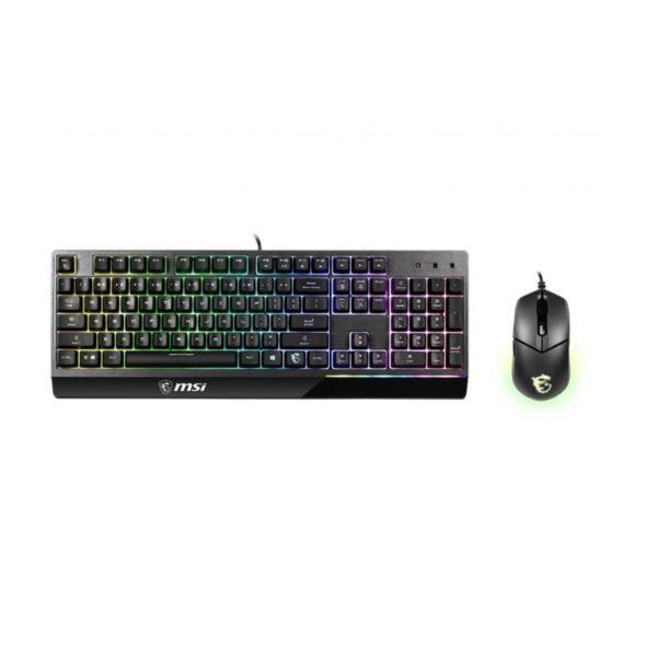 msi vigor gk30 rgb gaming keyboard mouse combo a