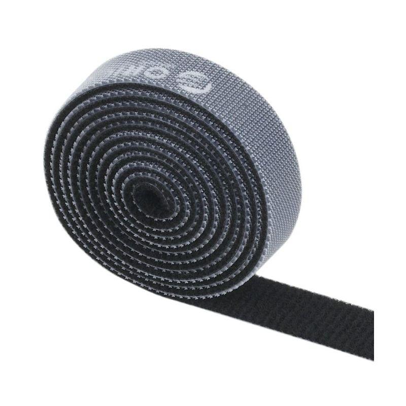 orico 1m velcro cable tie black a