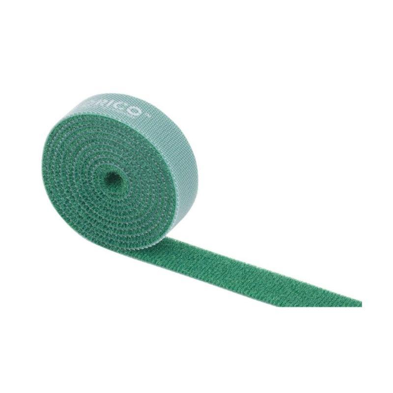 orico 1m velcro cable tie green a