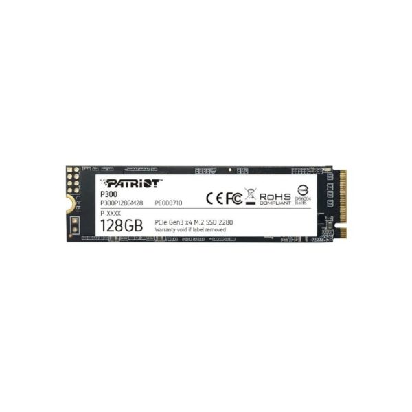 patriot p300 128gb pcie nvme m 2 solid state drive a