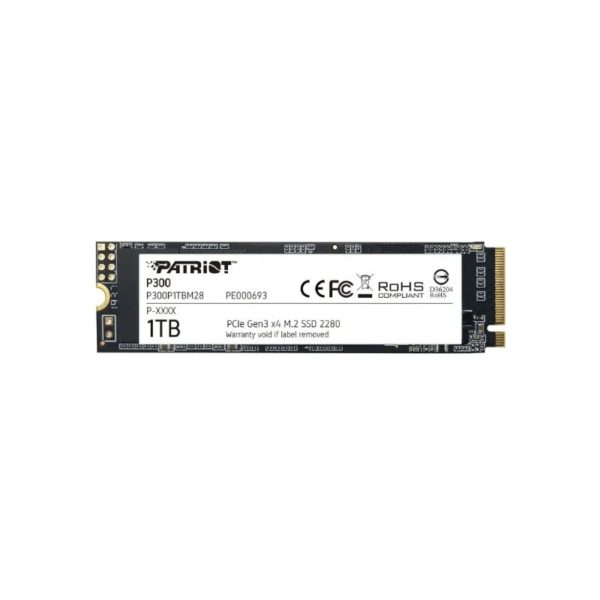 patriot p300 1tb pcie nvme m 2 solid state drive a