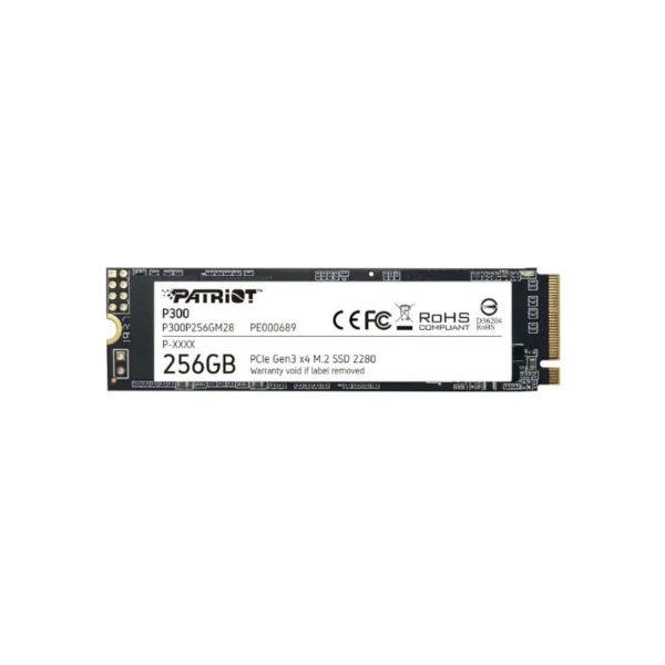 patriot p300 256gb pcie nvme m 2 solid state drive a