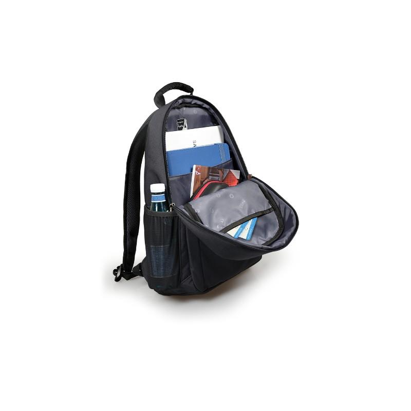 port sydney laptop backpack grey b