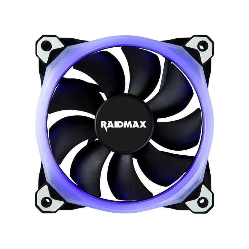 raidmax 120mm chroma rgb led case fan b