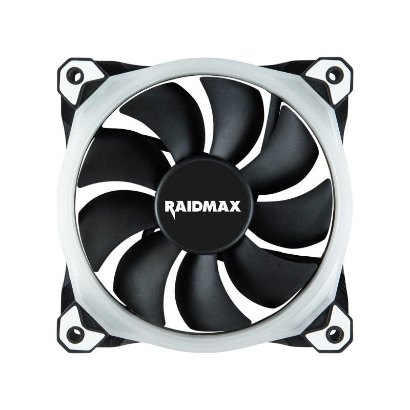raidmax 120mm chroma rgb led case fan c