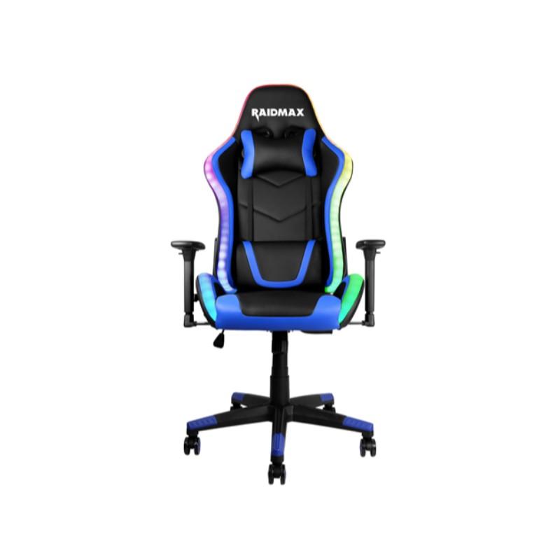 raidmax dk925 argb gaming chair blue a