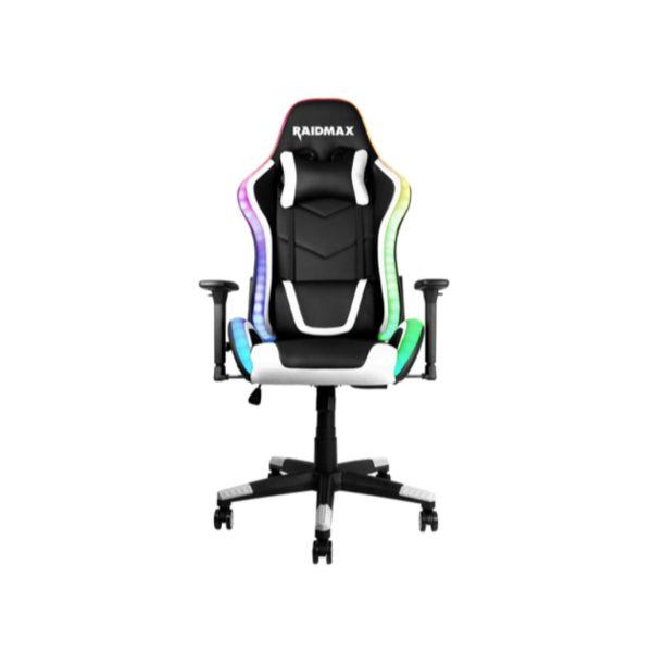 raidmax dk925 argb gaming chair white a