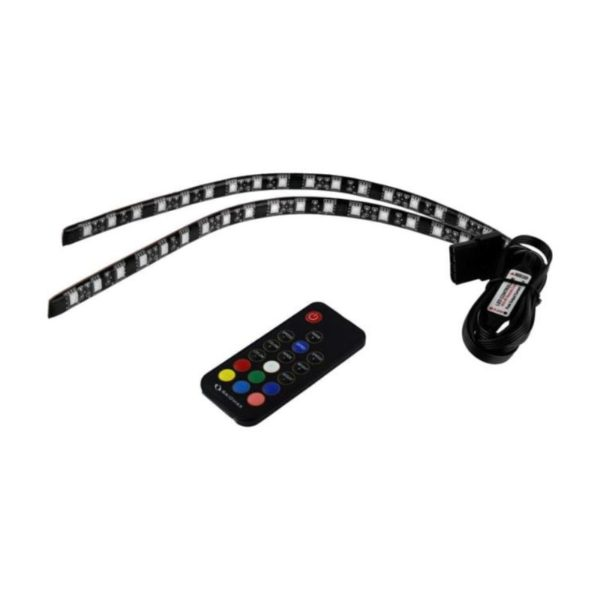 raidmax rgb led 30cm strip double pack with controller a