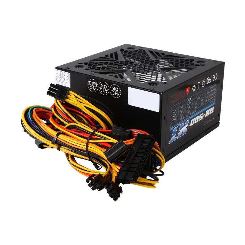 raidmax rx 500xt 500 watt power supply b