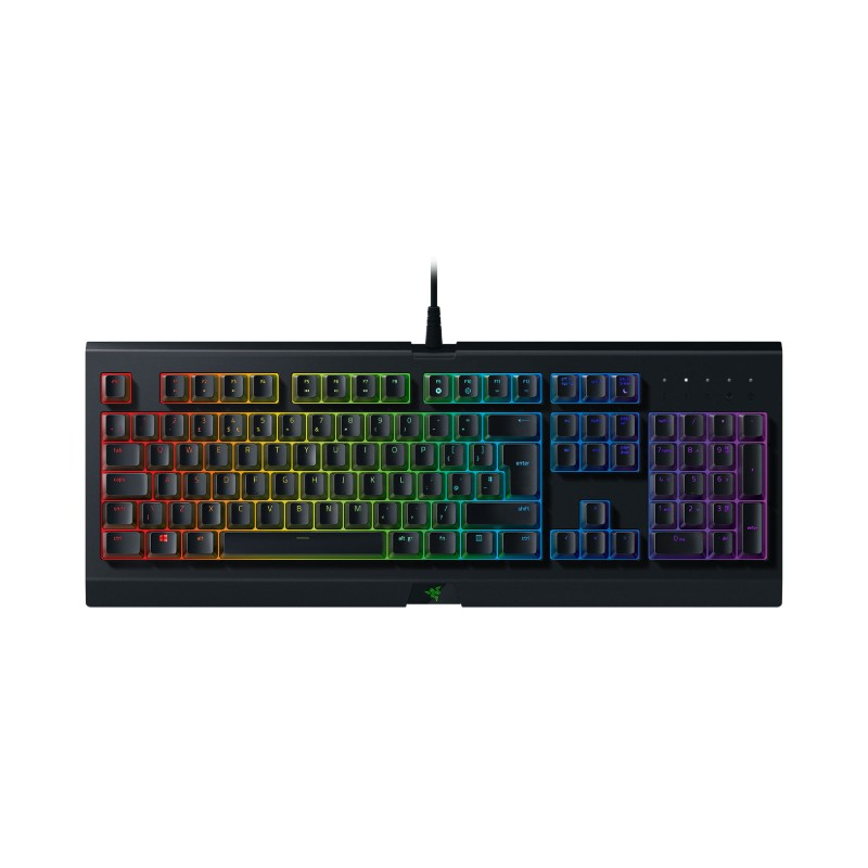 razer cynosa chroma membrane gaming keyboard c