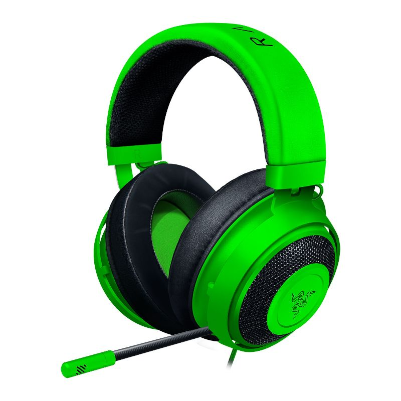 razer kraken gaming headset green a