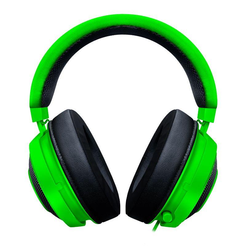 razer kraken gaming headset green b