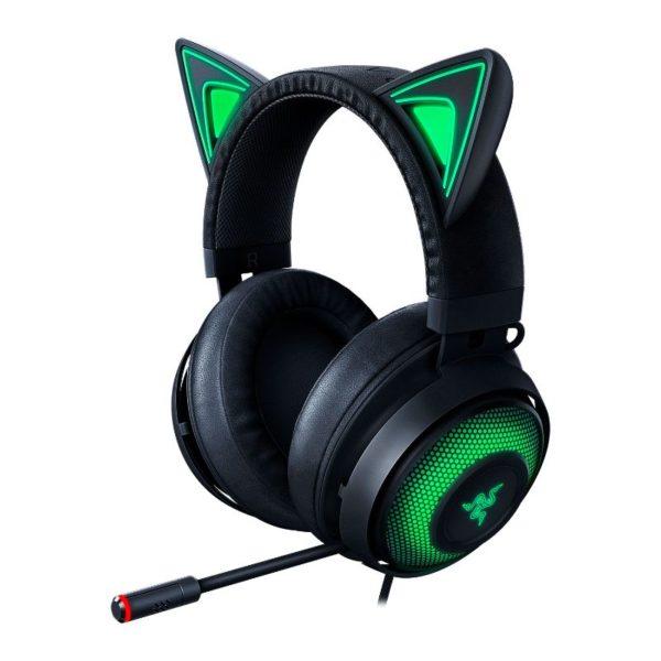 razer kraken kitty gaming headset black a