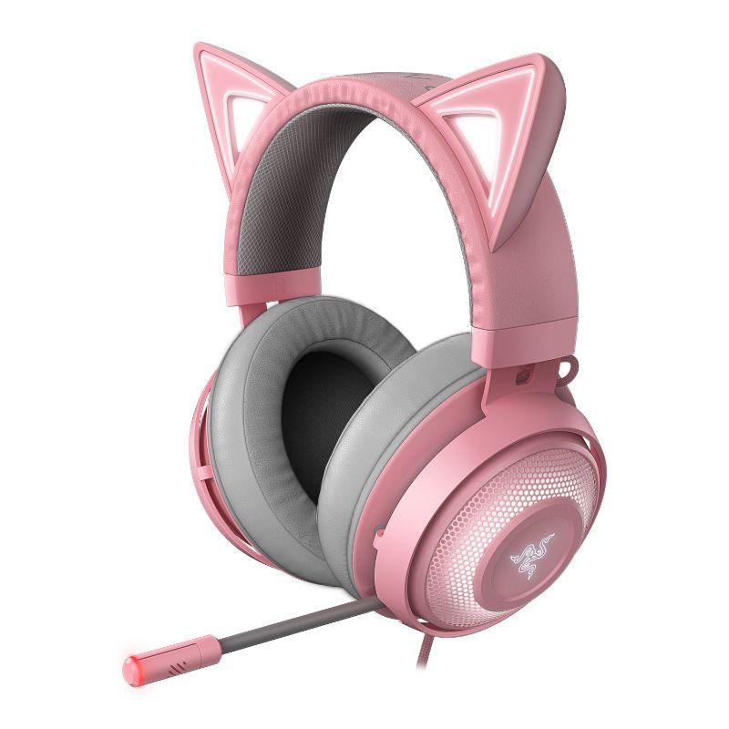 razer kraken kitty gaming headset quartz a