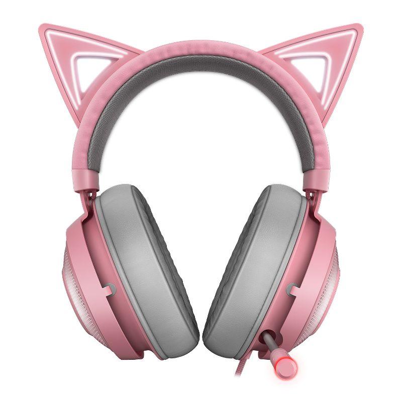 razer kraken kitty gaming headset quartz b