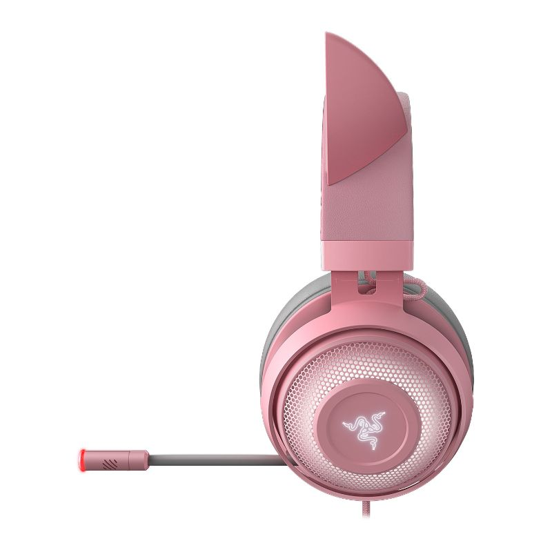 razer kraken kitty gaming headset quartz c