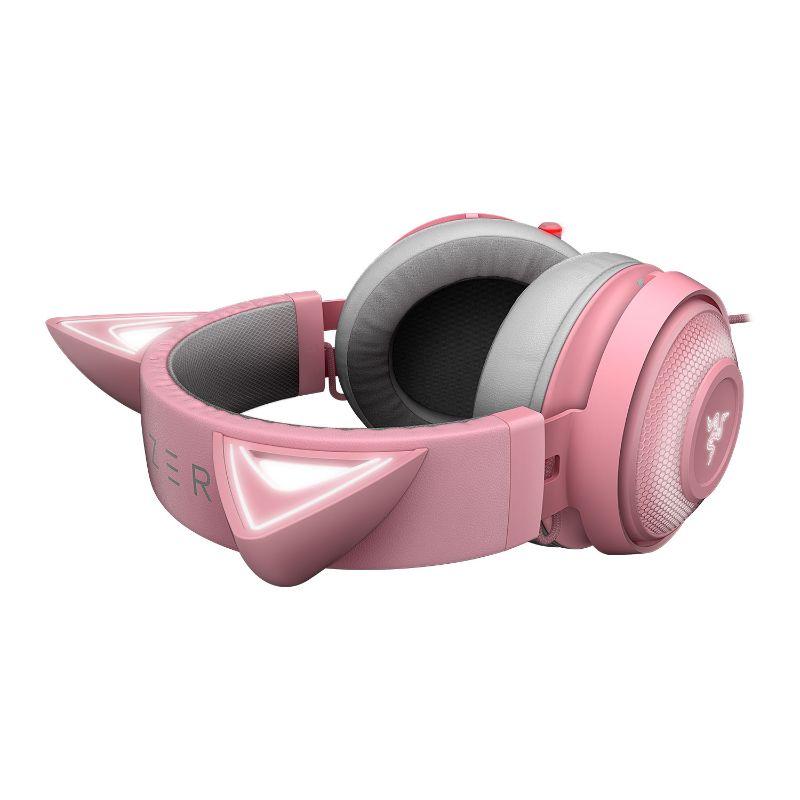 razer kraken kitty gaming headset quartz d