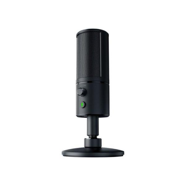 razer seiren x compact streaming mic black a