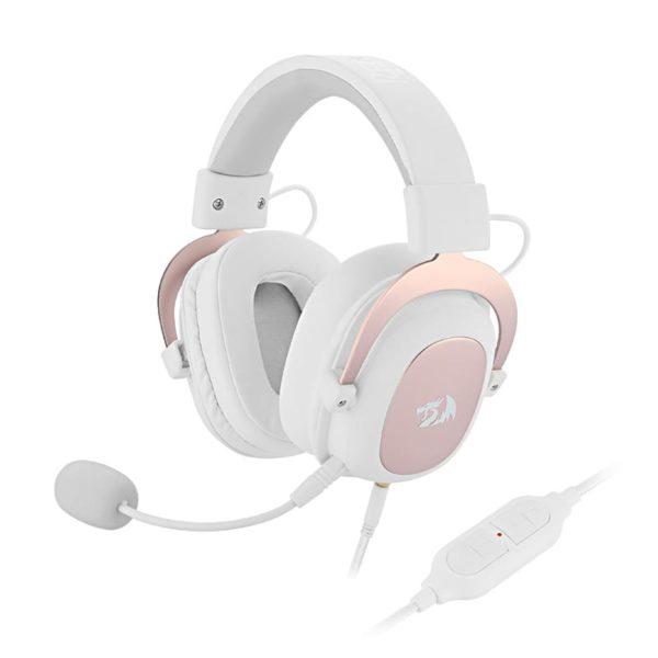 reddragon zeus gaming headset white a