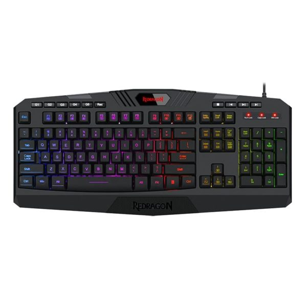 redragon harpe rgb gaming keyboard a