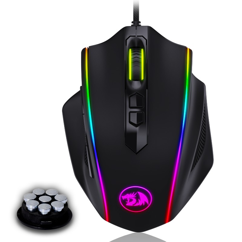 redragon m720 vampire rgb gaming mouse a