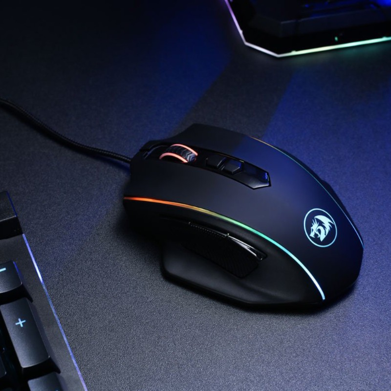 redragon m720 vampire rgb gaming mouse c