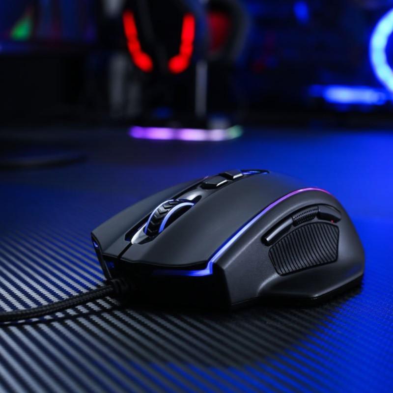 redragon m720 vampire rgb gaming mouse d