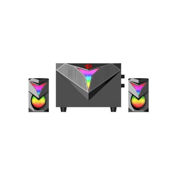 redragon toccata rgb 2 1 pc gaming speaker set a