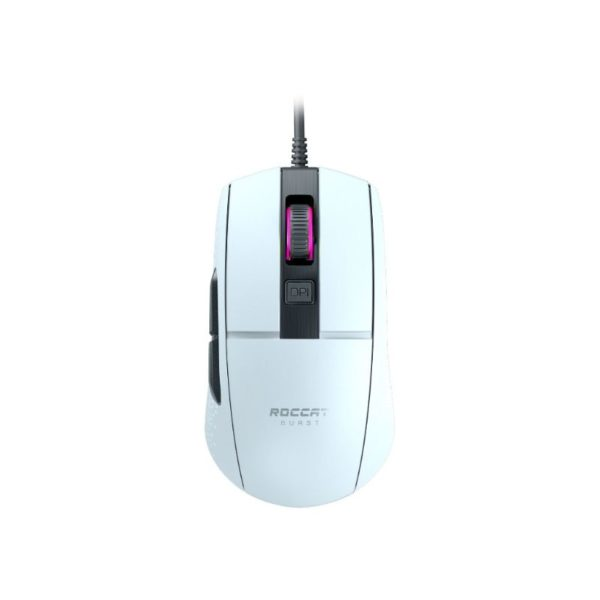 roccat burst core lightweight gaming mouse white a