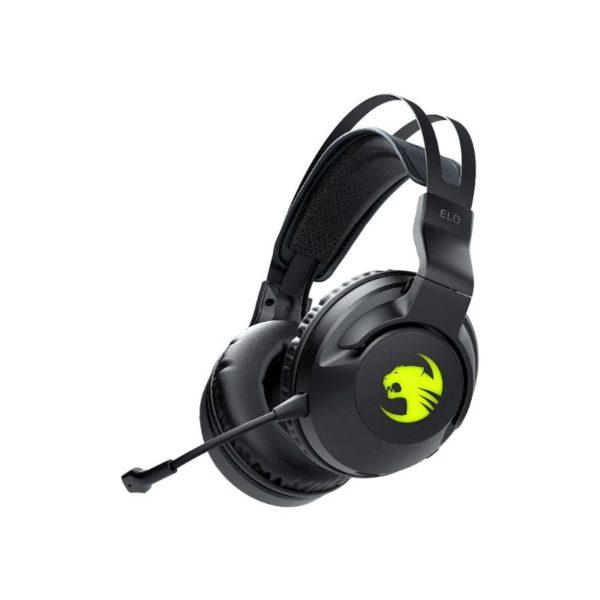 roccat elo 7 1 air wireless surround sound gaming headset black a