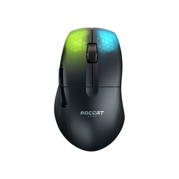 roccat kone air lightweight wireless gaming mouse black a
