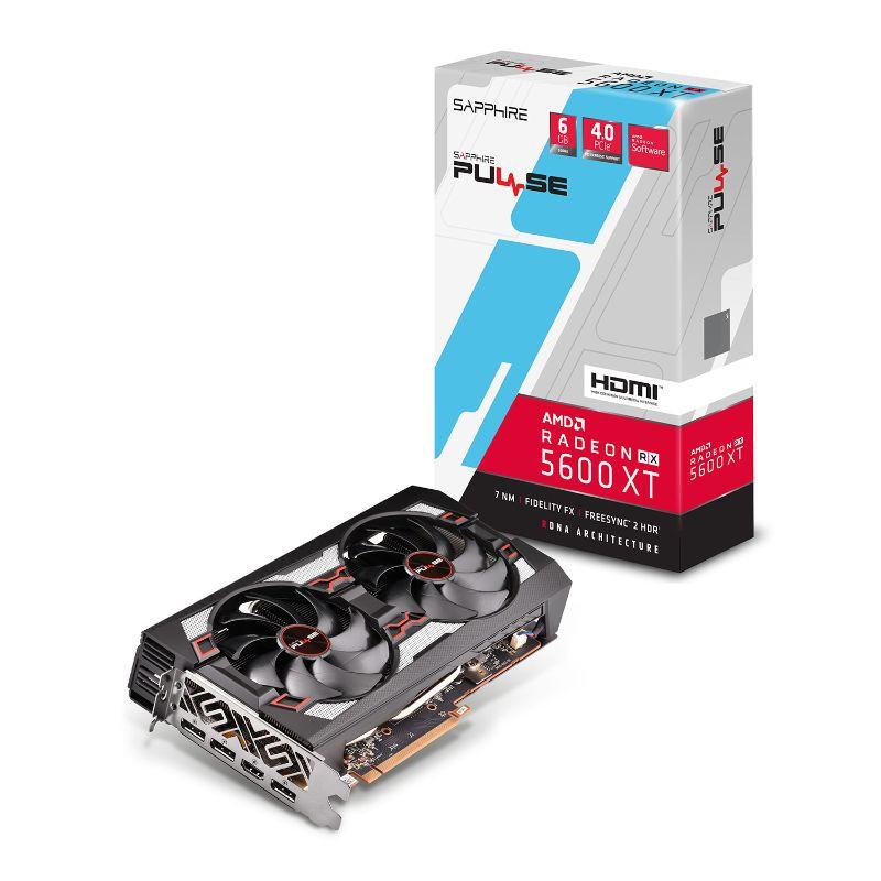 sapphire amd radeon rx 5600 xt pulse.graphics card a