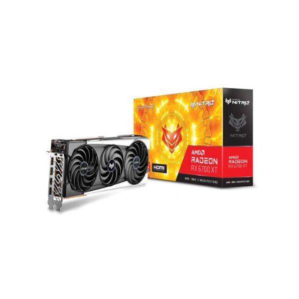 sapphire radeon rx 6700 xt nitro 12gb graphics card a