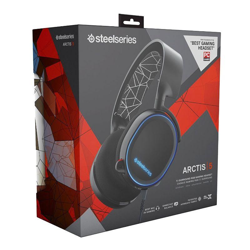 steelseries arctis 5 headset black c