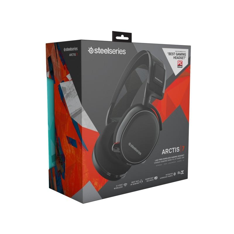 steelseries arctis 7 wireless headset black d