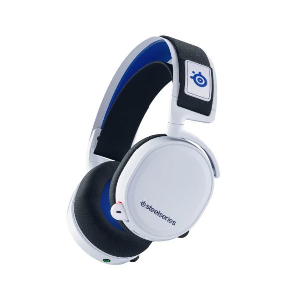 steelseries arctis 7p wireless gaming headset for playstation white a