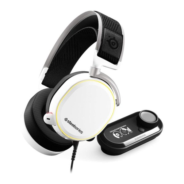 steelseries arctis pro gamedac gaming headset white a