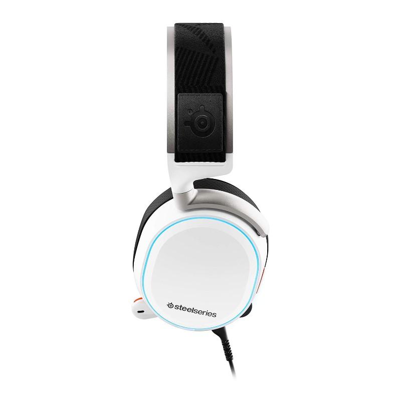 steelseries arctis pro gamedac gaming headset white c
