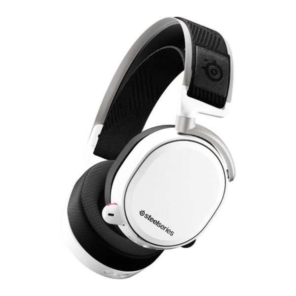 steelseries arctis pro wireless gaming headset white a