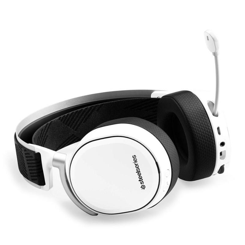 steelseries arctis pro wireless gaming headset white b