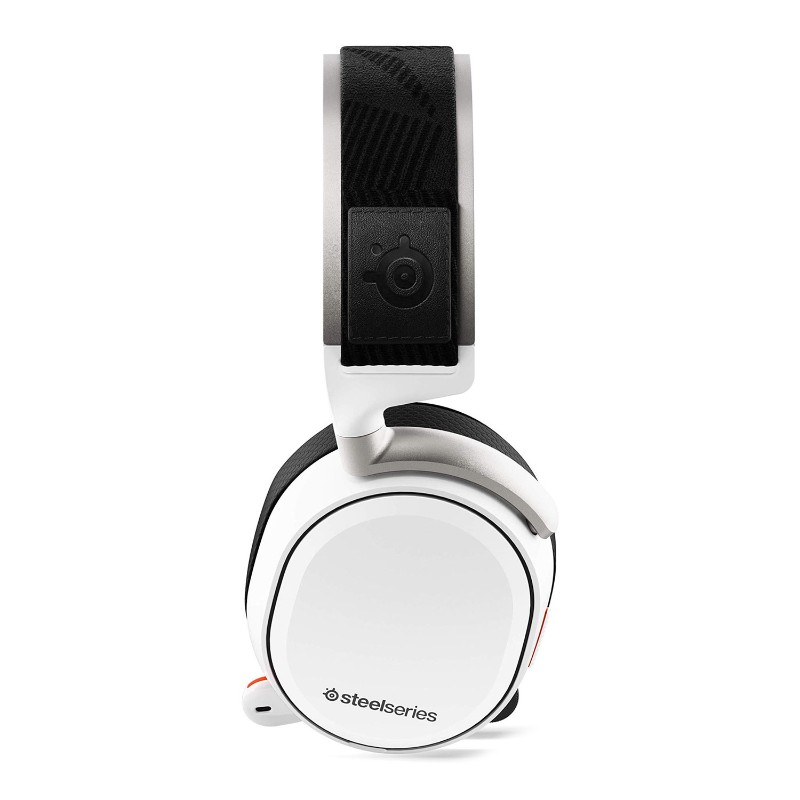 steelseries arctis pro wireless gaming headset white c