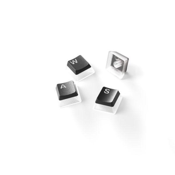 steelseries prismcaps universal double shot pbt keycaps a