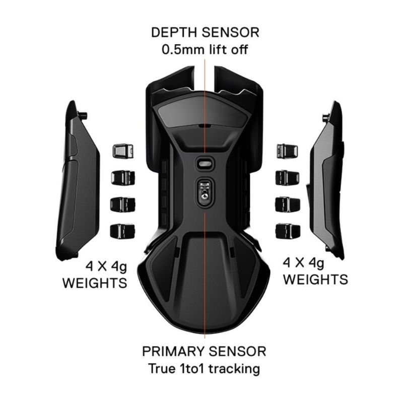 steelseries rival 600 gaming mouse c