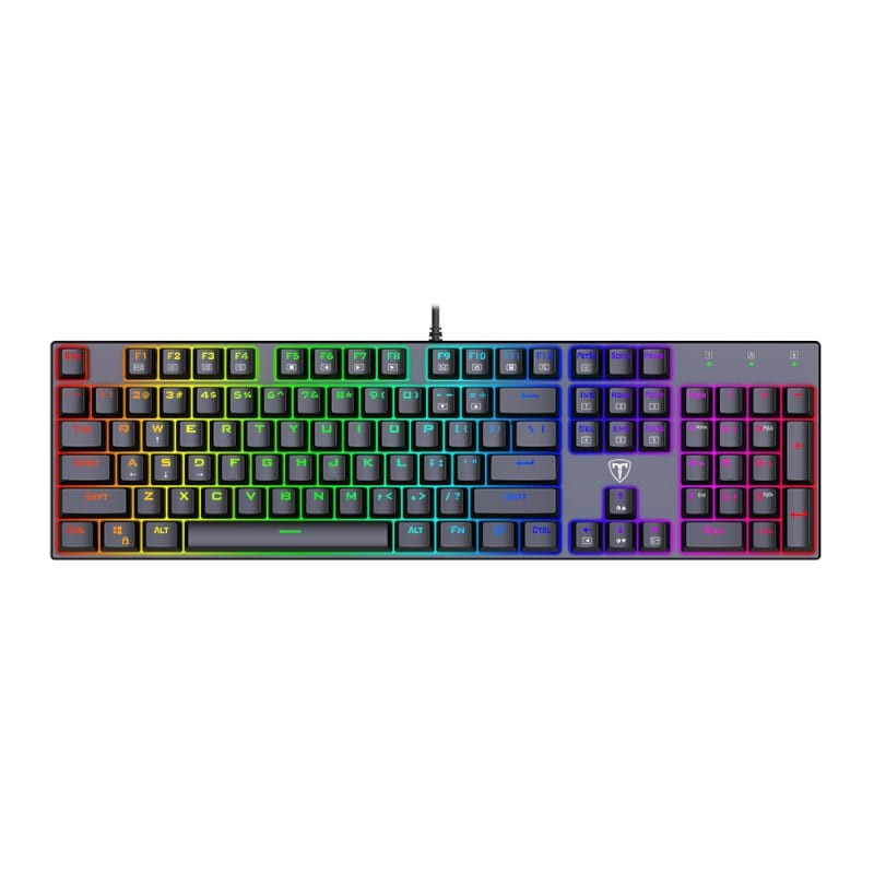t dagger frigate t tgk306 rainbow mechanical gaming keyboard a