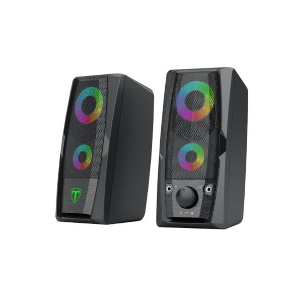 t dagger t tgS550 stereo rgb pc speaker set a