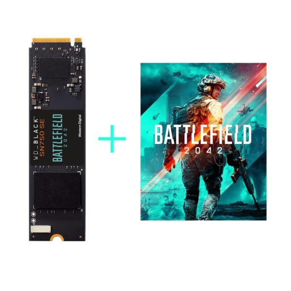 western digital black sn750 se 500gb nvme m2 ssd battlefield 2042 game code a