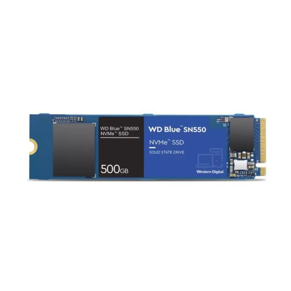 western digital blue sn550 500gb m 2 nvme solid state drive a
