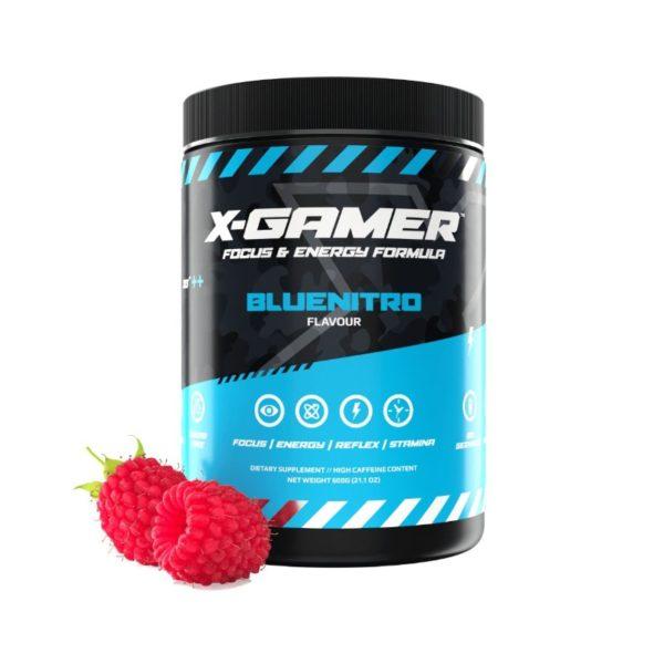 x gamer bluenitro 600g energy drink a