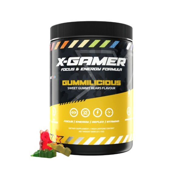 x gamer gummilicious 600g energy drink a