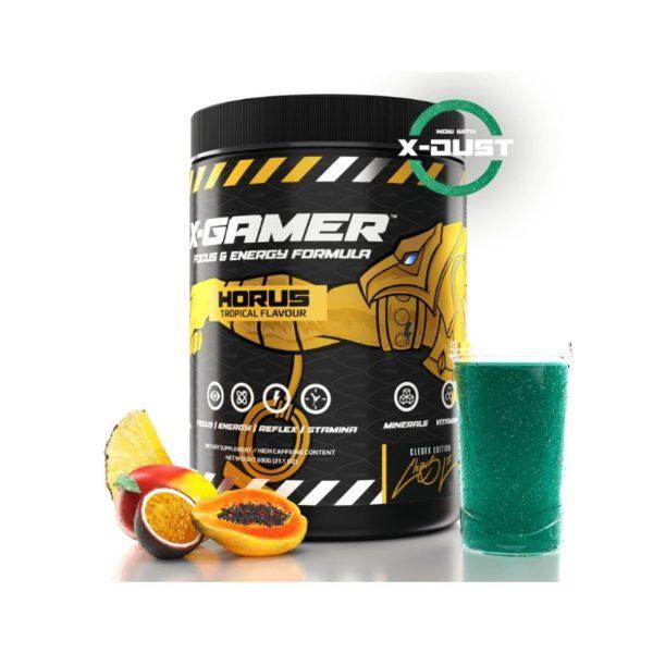 x gamer x tubz horus 600g 60 servings energy drink a